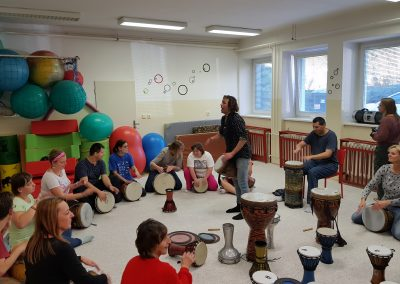 Bubnování s P. Šušorem