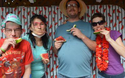 Melounová párty